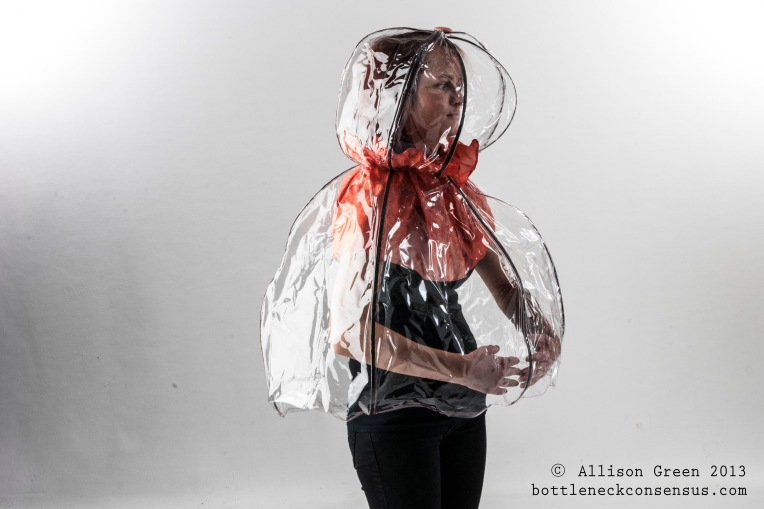 Jellyfish Rain Cape - Allison Green_3